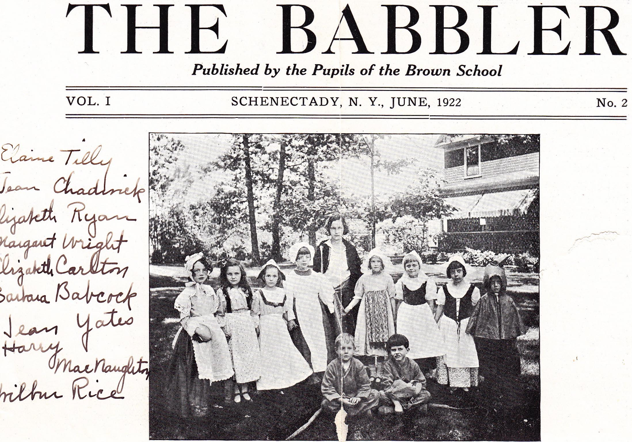 Brown School historical picture